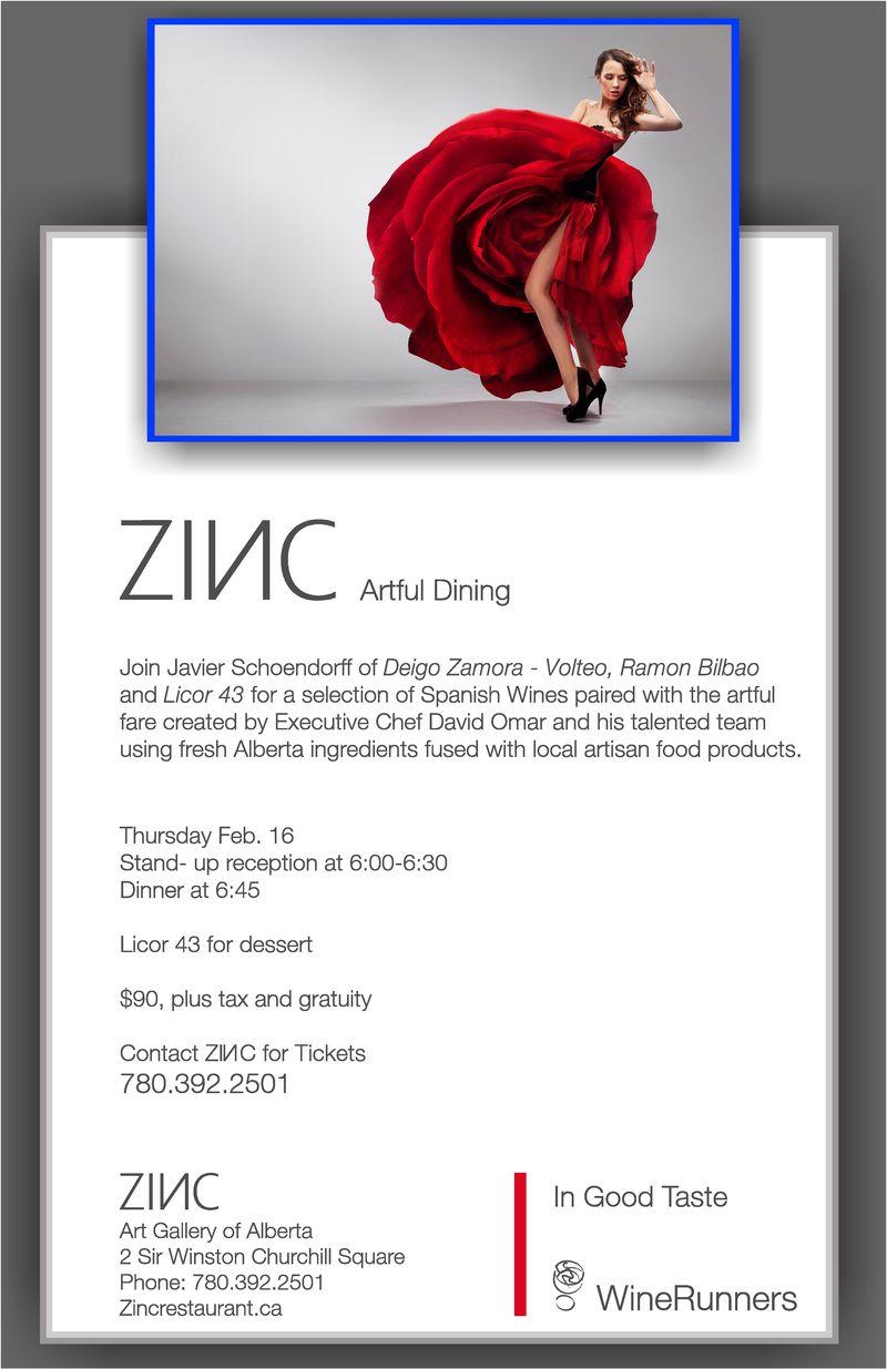 Zinc posters